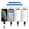 Переходник Lightning (Male, папа) - USB (Female, мама) OTG адаптер для iPhone, iPad