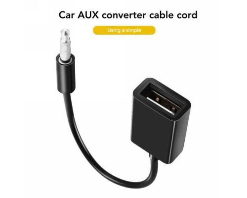 Аудио-кабель USB ‒ Jack 3.5mm