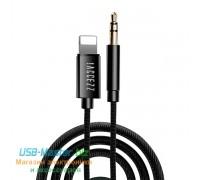 Аудио-кабель Lightning ‒ Jack 3.5, AUX для iPhone