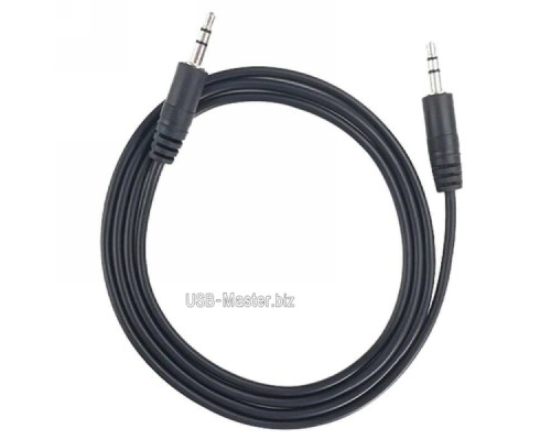 Аудио-кабель Jack 3.5 (Male + Male) AUX