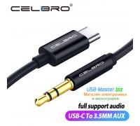 """Аудио-кабель Type C ‒ 3,5 мм AUX """"CELEBRO"""""""