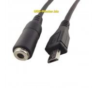 Переходник Micro-USB ‒ AUX 3.5mm