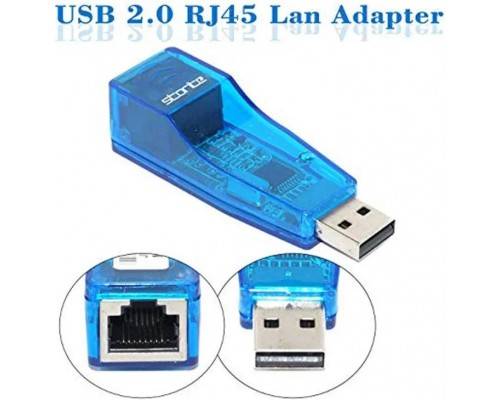 Внешний сетевой адаптер, сетевая карта USB LAN Ethernet RJ45