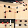 Самоклеющиеся зажимы для фиксирования кабелей