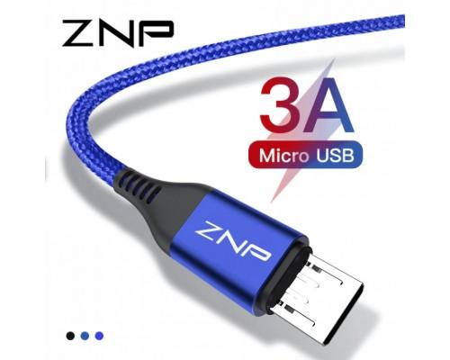 """Зарядный кабель Micro-usb, 3 A, """"ZNP"""""""
