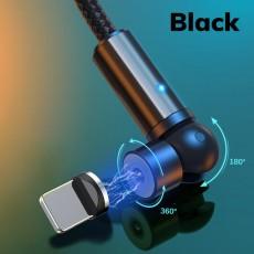 Вращающийся магнитный кабель Micro-USB, Type-C, Lightning