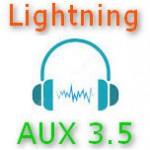 Переходники Lightning AUX - 3.5 мм для наушников ✅