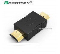 Переходник HDMI male ‒ HDMI male