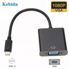 Конвертер USB 3.1 Type-C‒ VGA