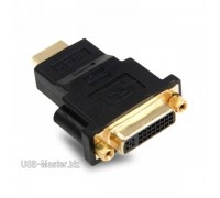 DVI (24+5pin) - HDMI адаптер