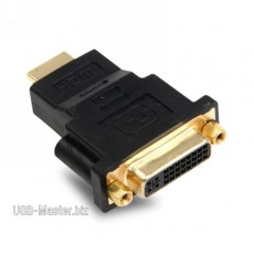 DVI (24+5pin) - HDMI адаптер