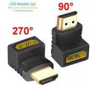 Адаптер HDMI 90°/270° градусов