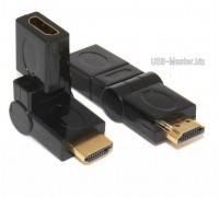 Переходник HDMI с поворотом на 360 градусов