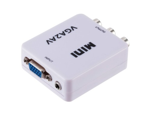 Конвертер VGA ‒ AV (3RCA)