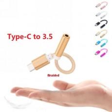 Аудио-кабель Type-C на AUX 3.5mm, AUX