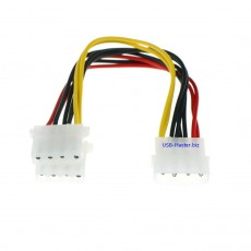 Y-сплиттер Molex 4 Pin Male - 2 Molex 4 Pin Female