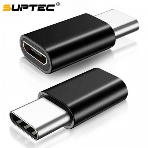 Адаптер Type-C ‒ Micro-USB, OTG