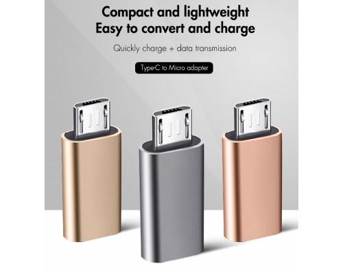 Переходник Micro-USB (Male) ‒ Type-C (Female) OTG