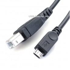 Кабель для принтера Micro-USB - USB Type-B, OTG
