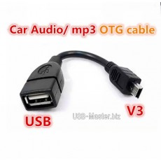 Переходник USB ‒ Mini-USB, OTG