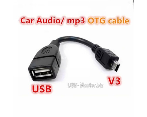 USB ‒ Mini-USB 5Pin, OTG