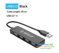 "USB-Хаб 4 порта USB 2.0, ""ORICO"""
