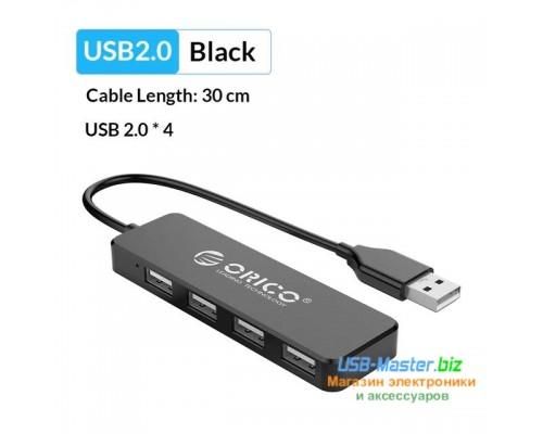 "USB-Хаб на 4 порта USB 2.0, разветвитель, Hub, ""ORICO"""