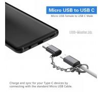 Адаптер Micro-USB ‒ Type-C OTG