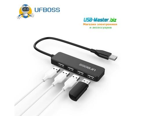 """USB-Хаб на 4 порта USB 2.0, разветвитель, Hub, """"UFBOSS"""""""
