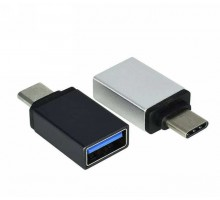 Переходник Type-C male - USB 3.0 female, OTG