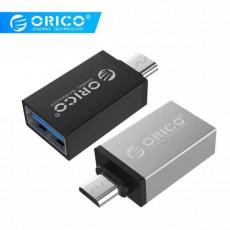 "Адаптер Micro-USB ‒ USB 3.0 OTG ""Orico"""