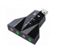 Внешняя Звуковая карта Digital USB 7.1